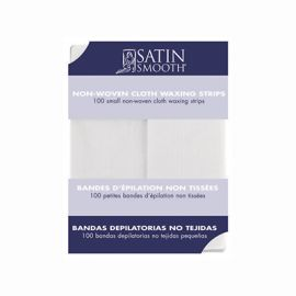 Small Non-Woven Cloth Waxing Strips 100pk